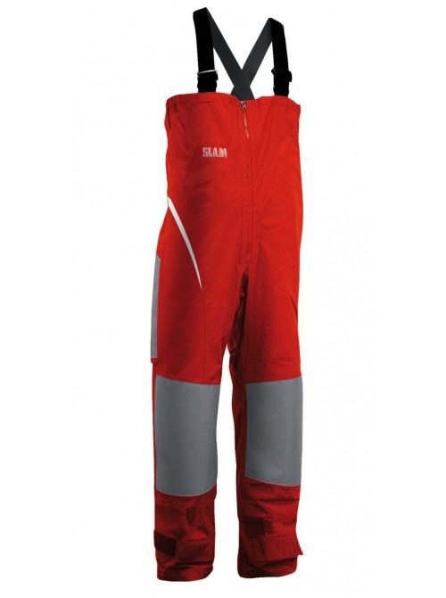 Pantalones de tripulación barco SLAM Force 1 Bibs color rojo