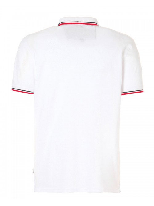 Polo SLAM Genoa 2.1 color blanco. Regular Fit.