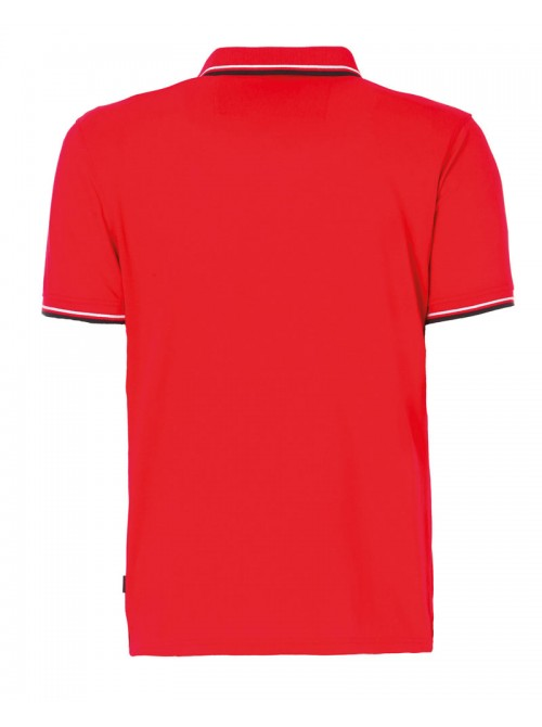 Polo SLAM Genoa 2.1 color rojo. Regular Fit.