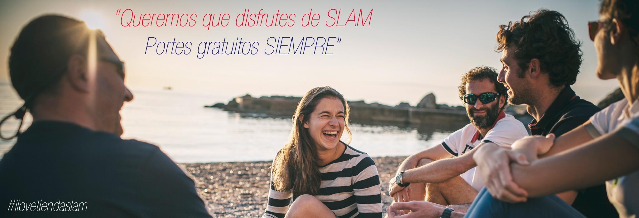 Queremos que disfrutes de SLAM. Portes gratuitos siempre.