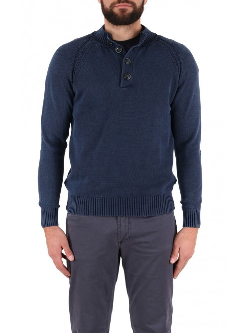 Jumper SLAM Molo navy colour
