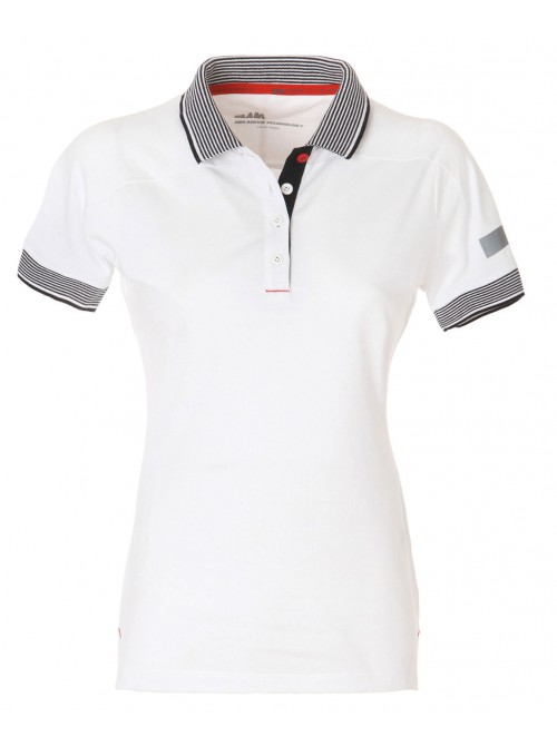 Polo SLAM Diamante white colour