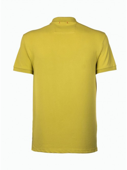 SLAM Polo new cabosse citronelle colour. Regular Fit.