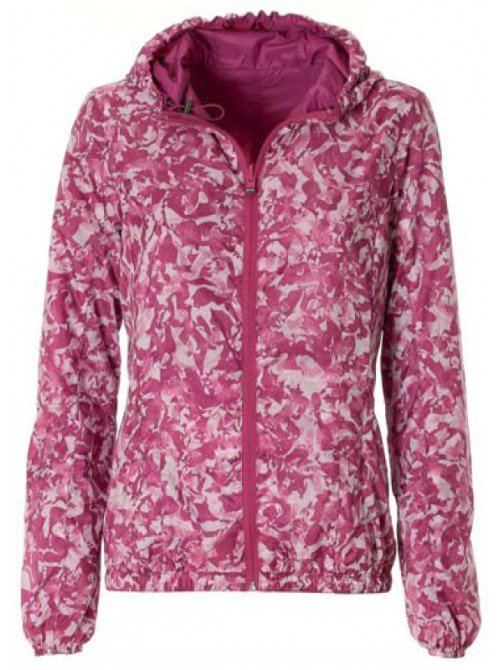 Jacket Palmi bougainvillea colour