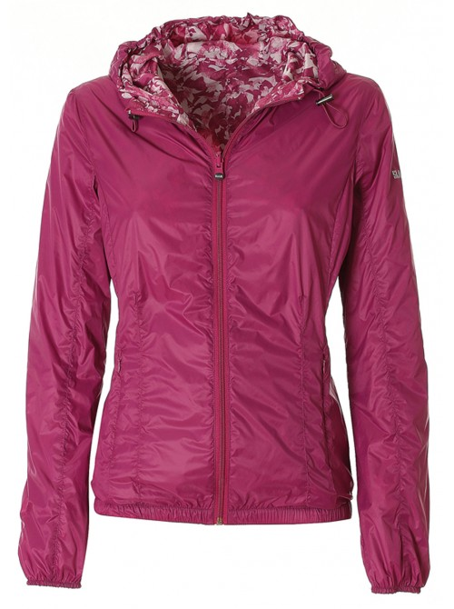 Jacket SLAM Palmi reversible bougainvillea colour