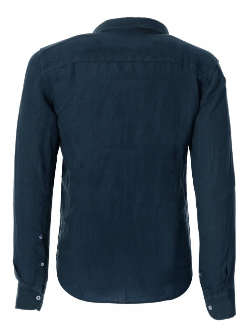 Camisa Slam Tindari color azul marino. REGULAR FIT.