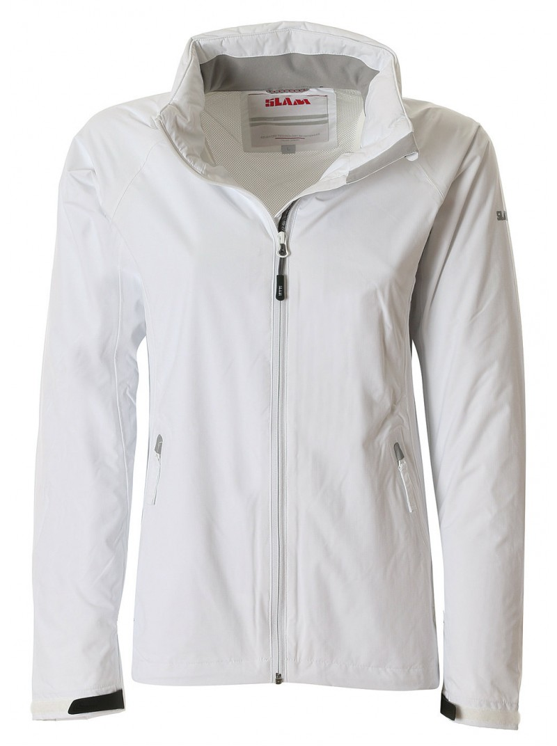 distribuidor mayorista 48793 38ffb Chaqueta mujer SLAM Portofino blanca con capucha. Puños regulables