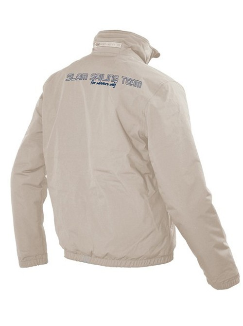 Jacket Slam Sabaya Winter Beige logo