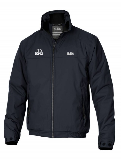 Jacket Slam Sabaya Winter ocean blue Logo