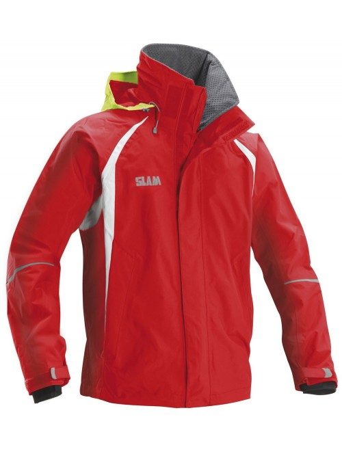 Jacket crew boat SLAM Force 2 red