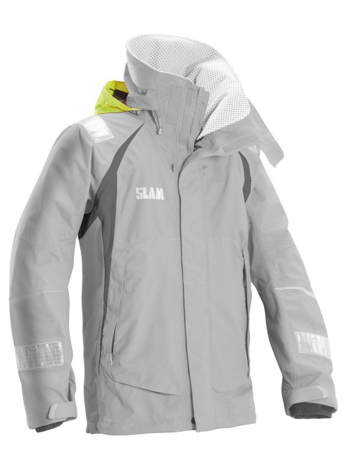 Jacket crew boat SLAM Force 3 gray