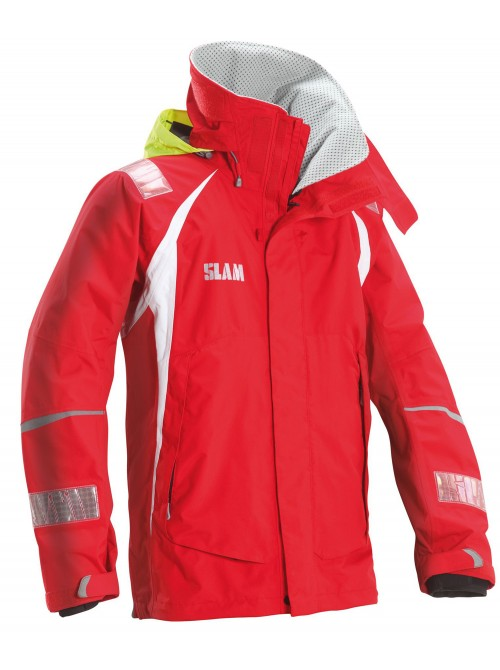 Jacket crew boat SLAM Force 3 red