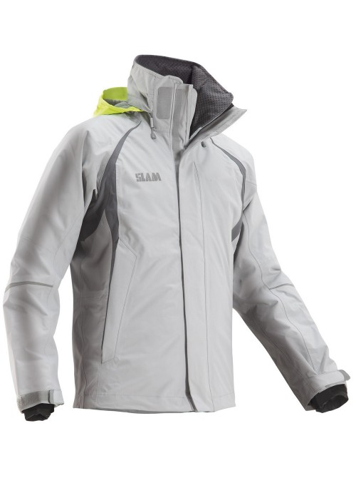 Jacket crew boat SLAM Force 2 gray