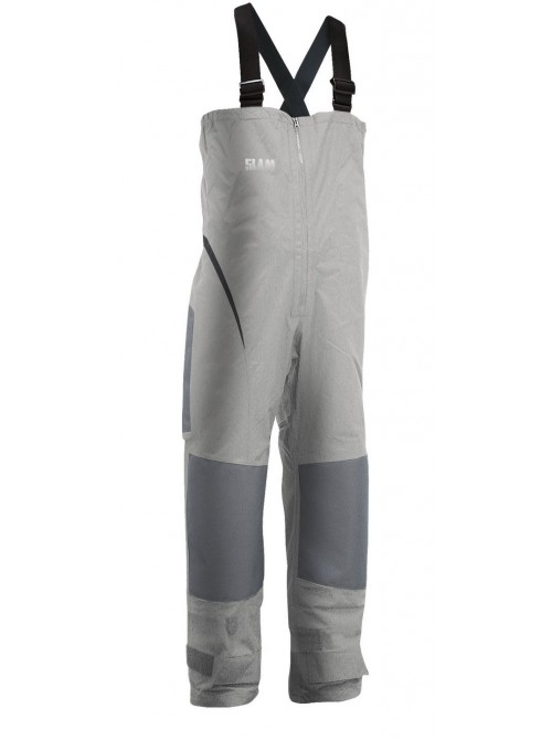Pants crew boat SLAM Force 1 Bibs gray colour
