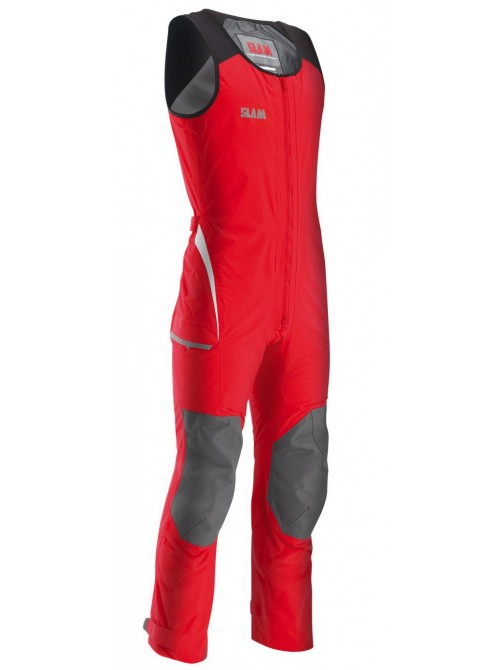 Crew boat SLAM trousers Force 2 Long John red colour