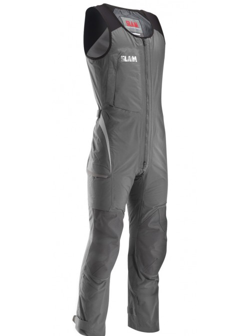 Crew boat SLAM trousers Force 3 Long John steel colour