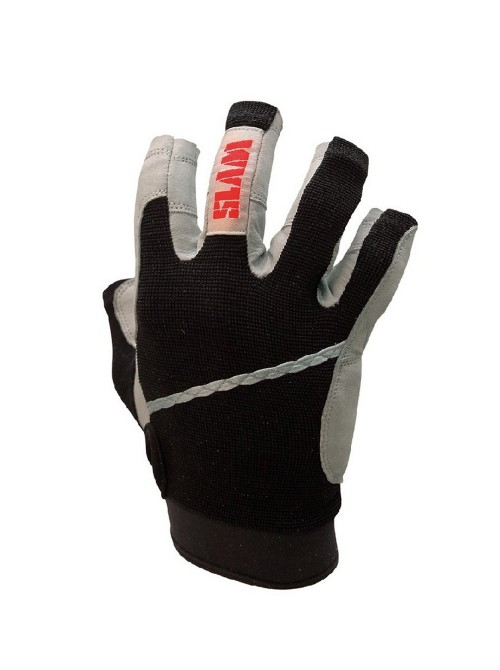 Gloves SLAM fingers 3/4 black colour