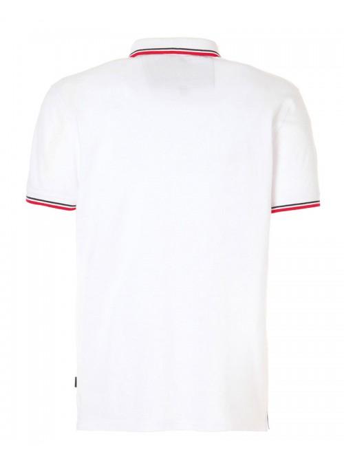 SLAM Polo Genoa 2.1 white colour. Regular Fit.